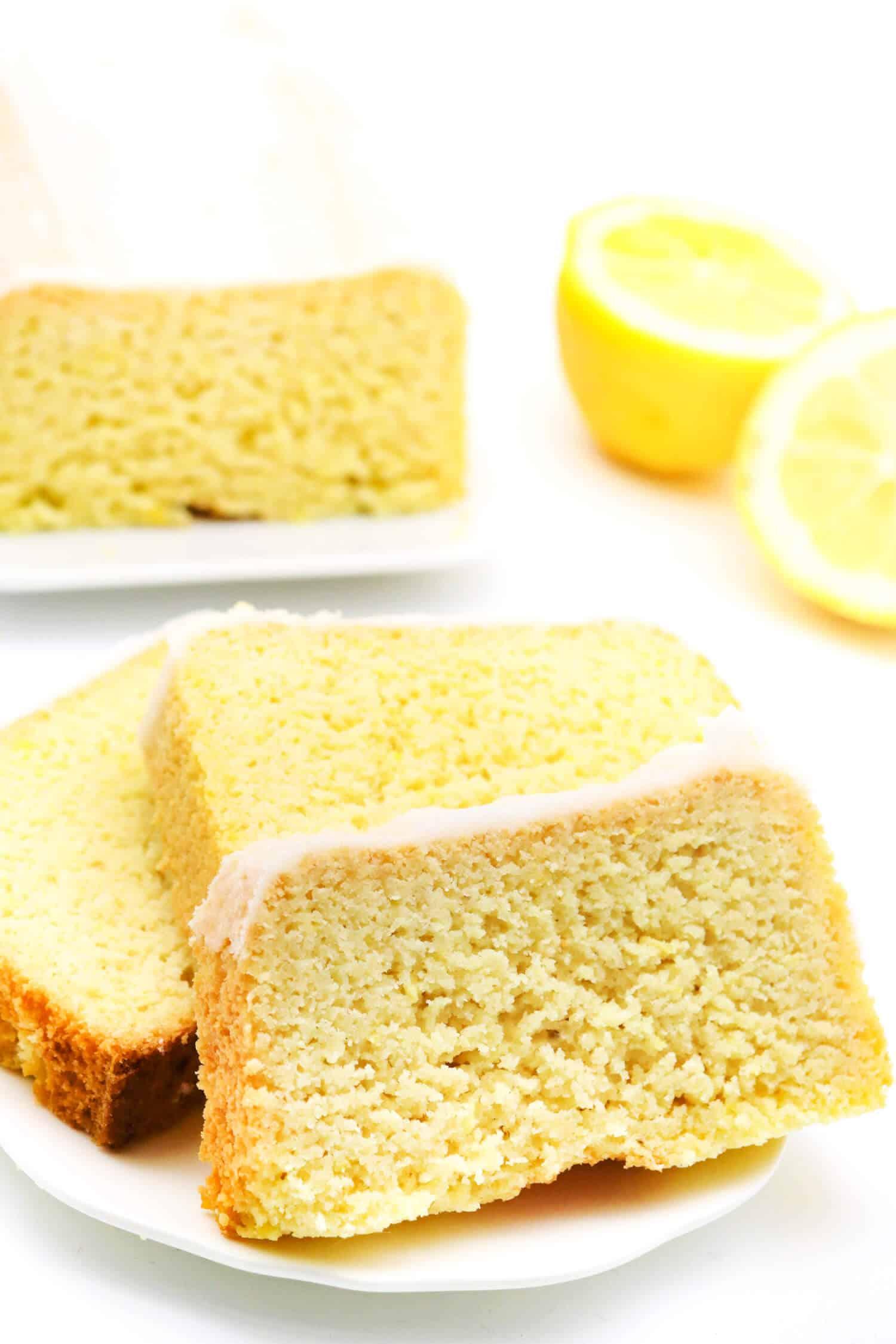 Low Carb Zitronenkuchen ohne Weizenmehl Rezept