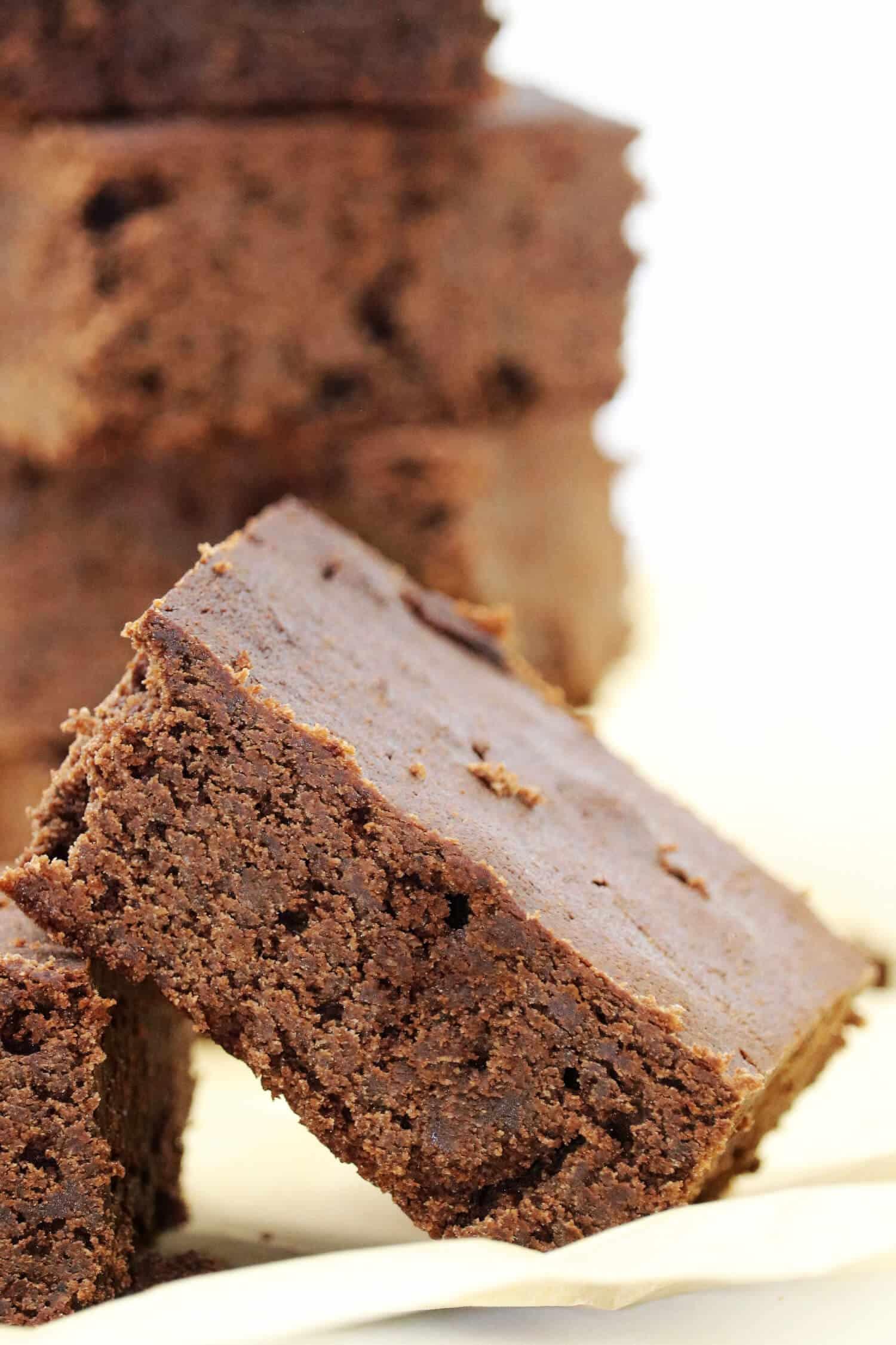 der beste Schokoladenkuchen ohne Zucker und Mehl