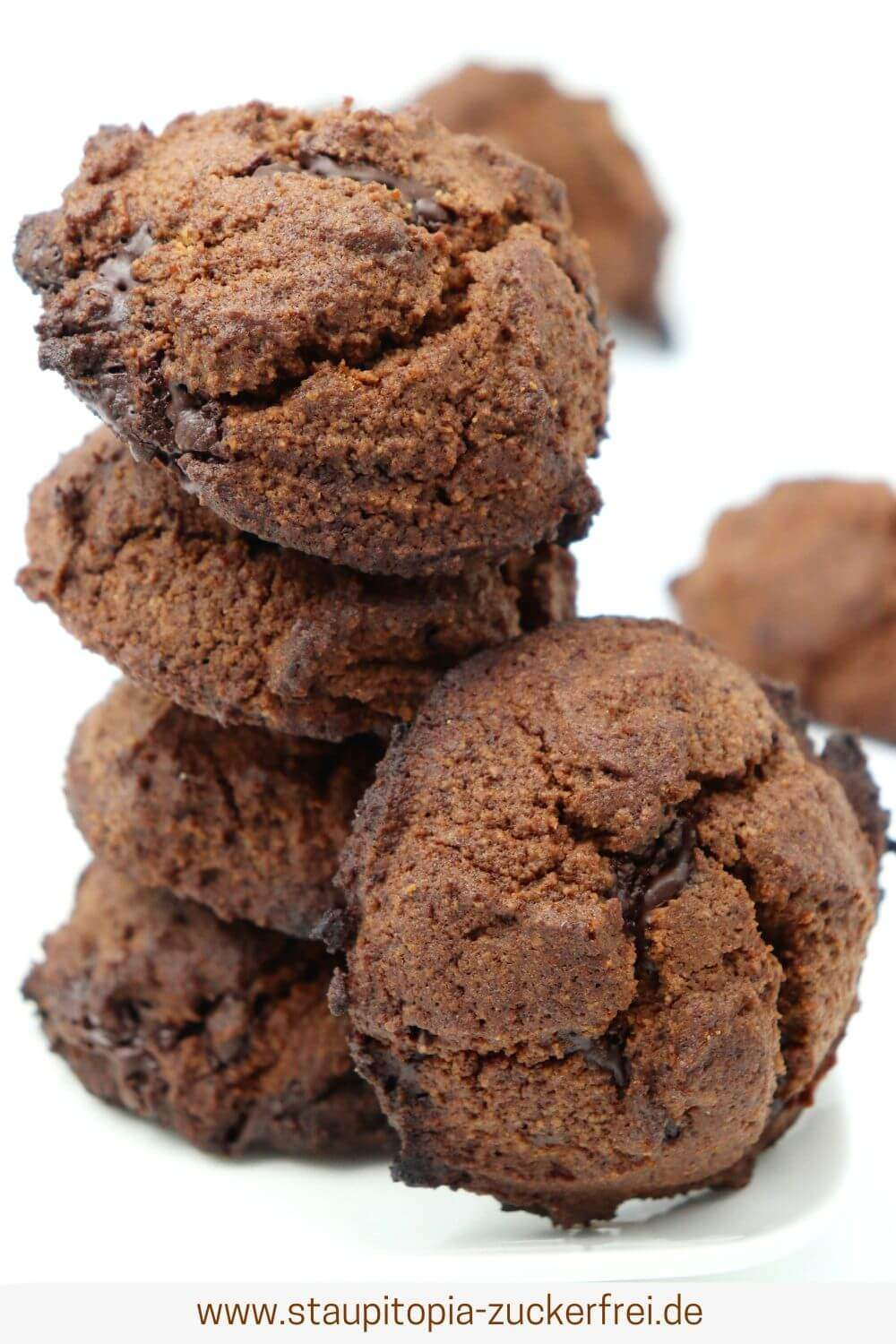 Gesunde Schokoplätzchen glutenfrei und ohne Zucker
