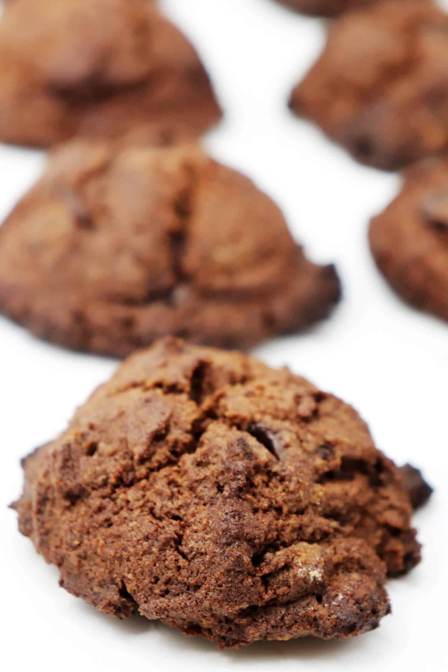 Glutenfreie Schokoplätzchen ohne Mehl