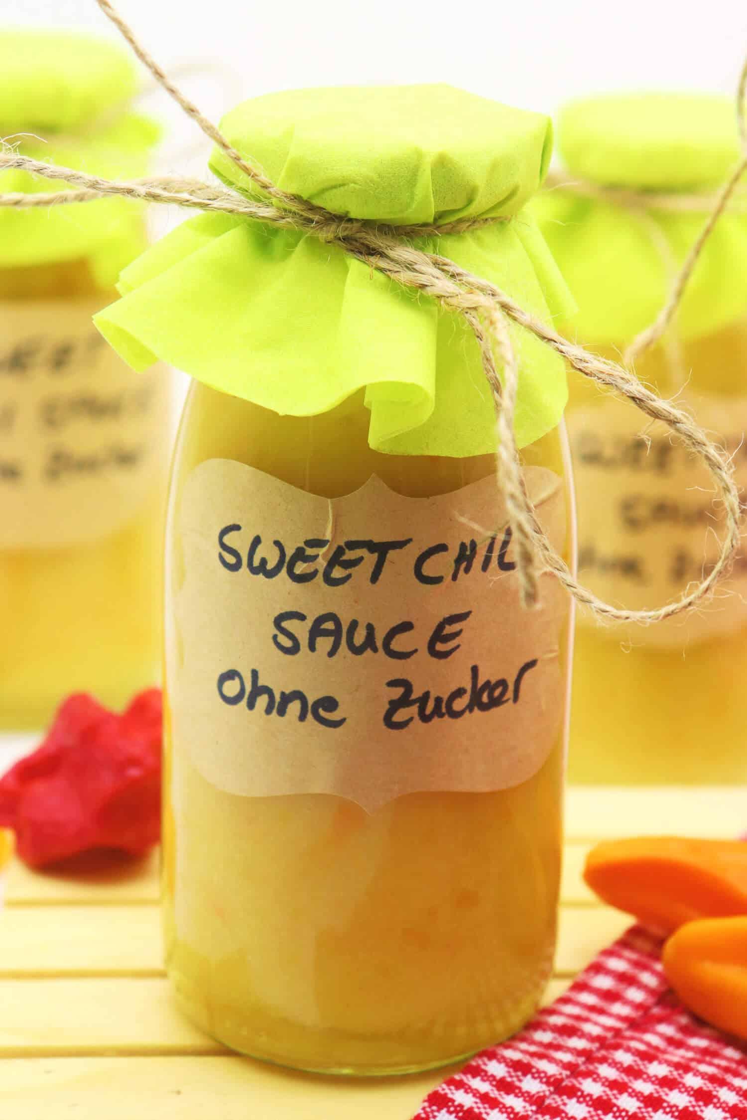 Sweet Chili Sauce ohne Zucker selbst machen