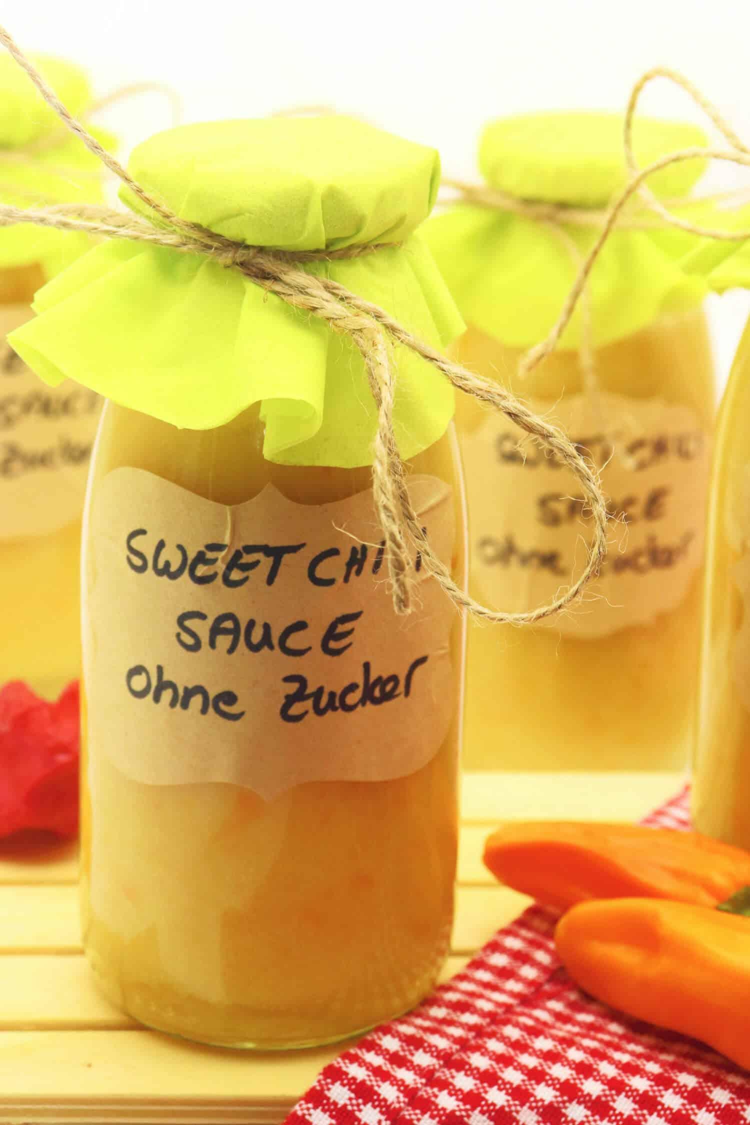 Die beste Sweet Chili Sauce selber machen ohne Zucker