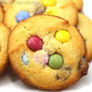 Weiche Low Carb Cookies mit Erythrit