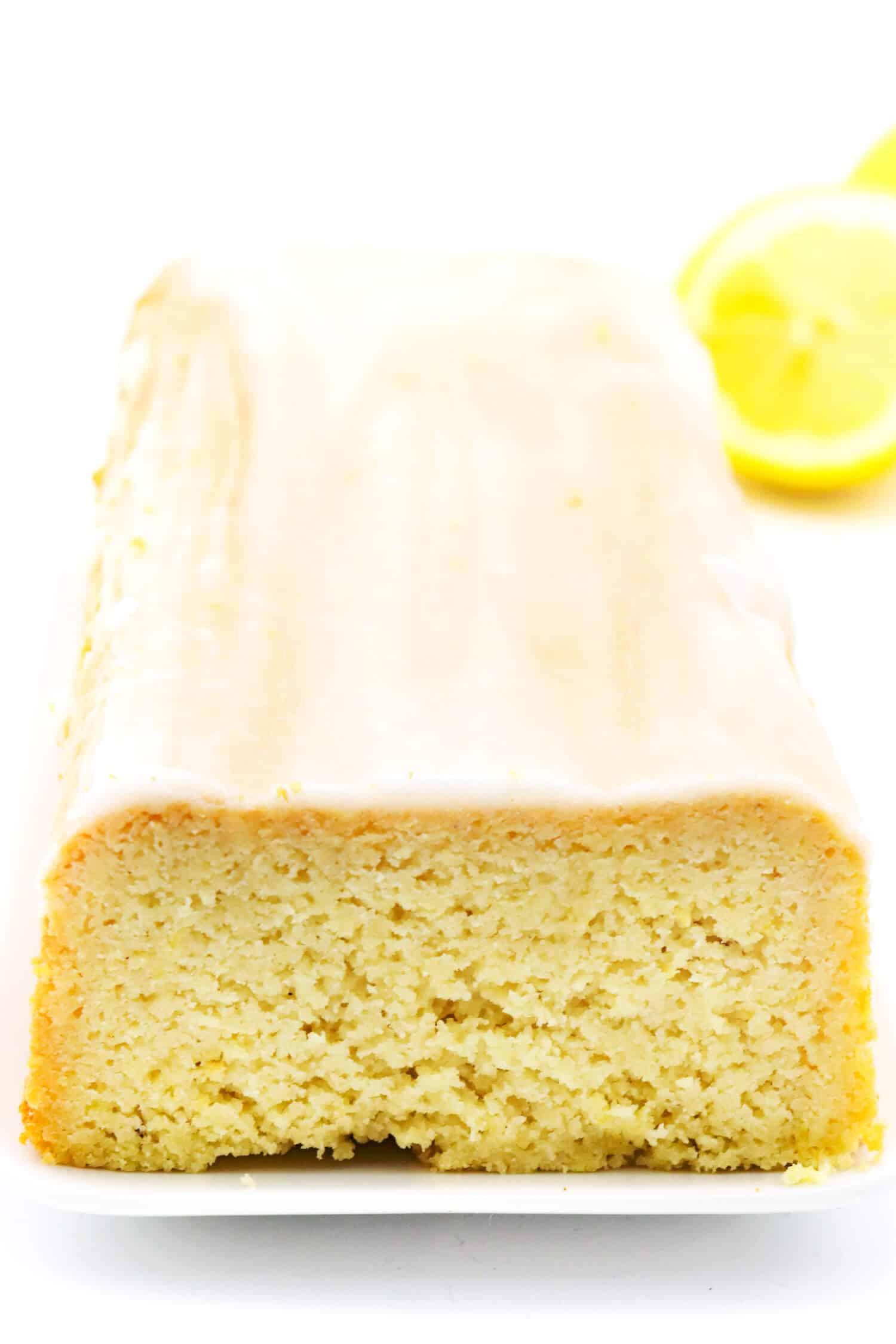 Zitronenkuchen ohne Mehl und Zucker Rezept