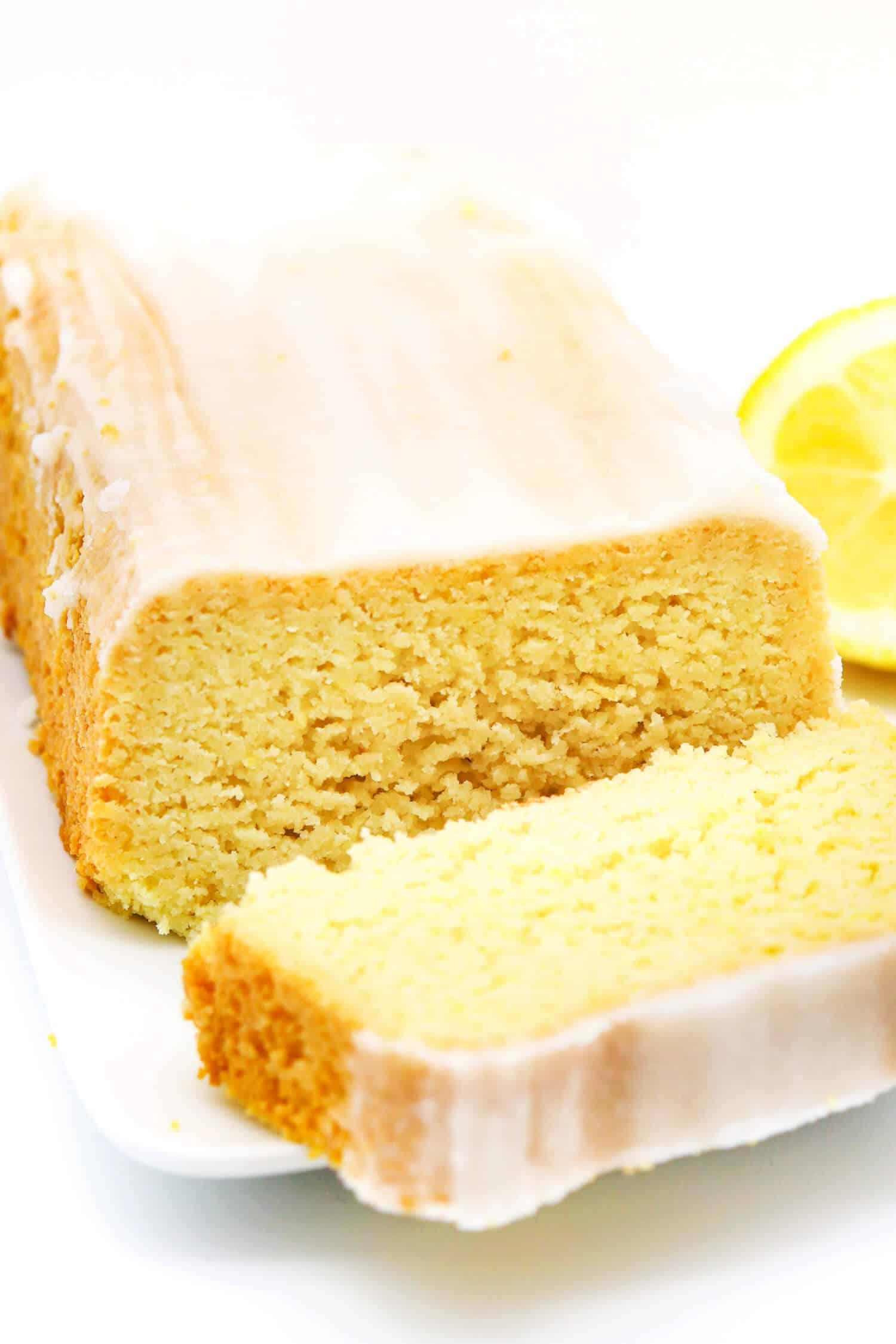 Zitronenkuchen ohne Zucker und Mehl Rezept