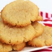 3 Zutaten Kekse ohne Ei, ohne Zucker, ohne Mehl