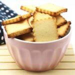 Butterkekse zum Ausstechen ohne Zucker