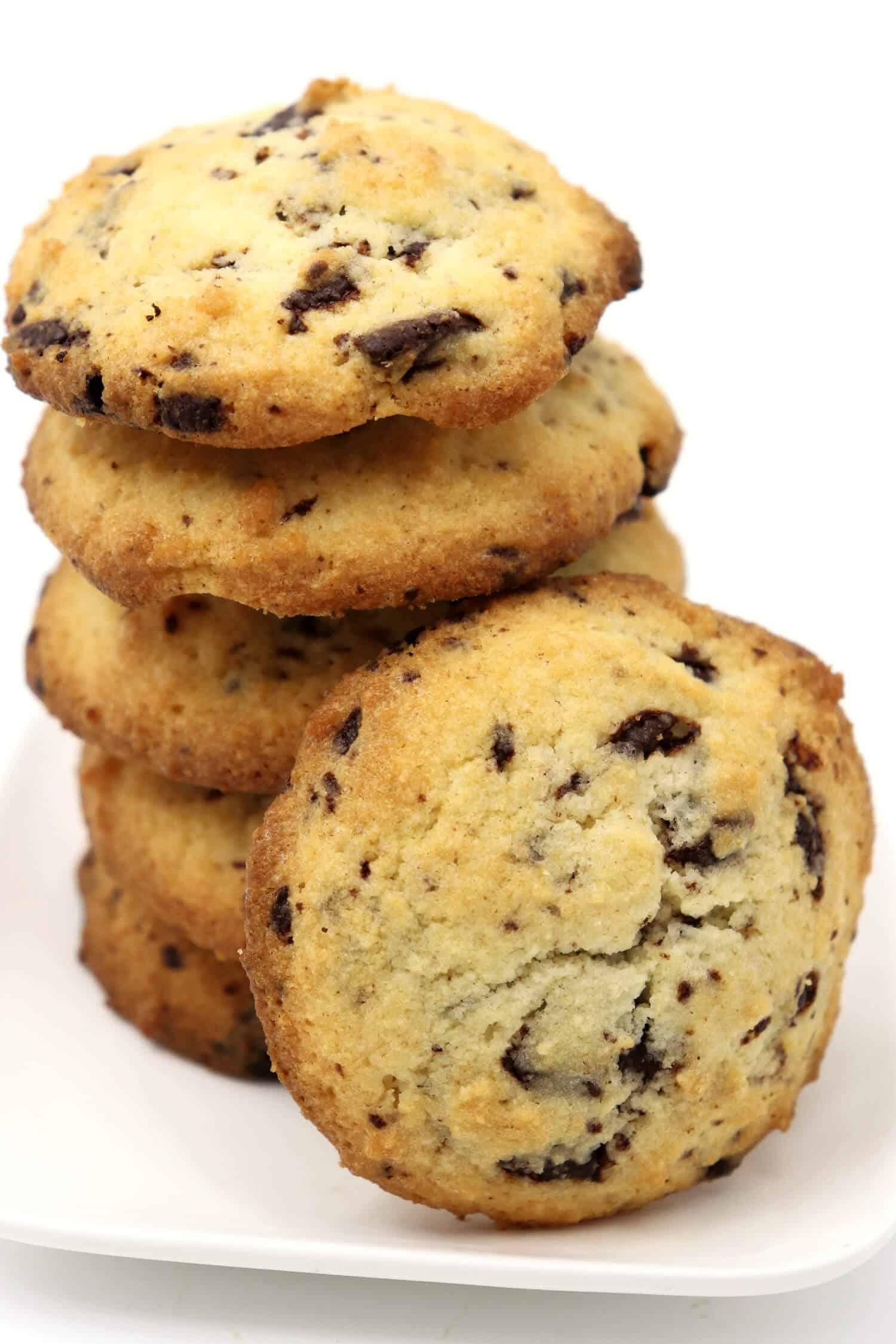 Rezept für glutenfreie Chocolate Chip Cookies ohne Mehl