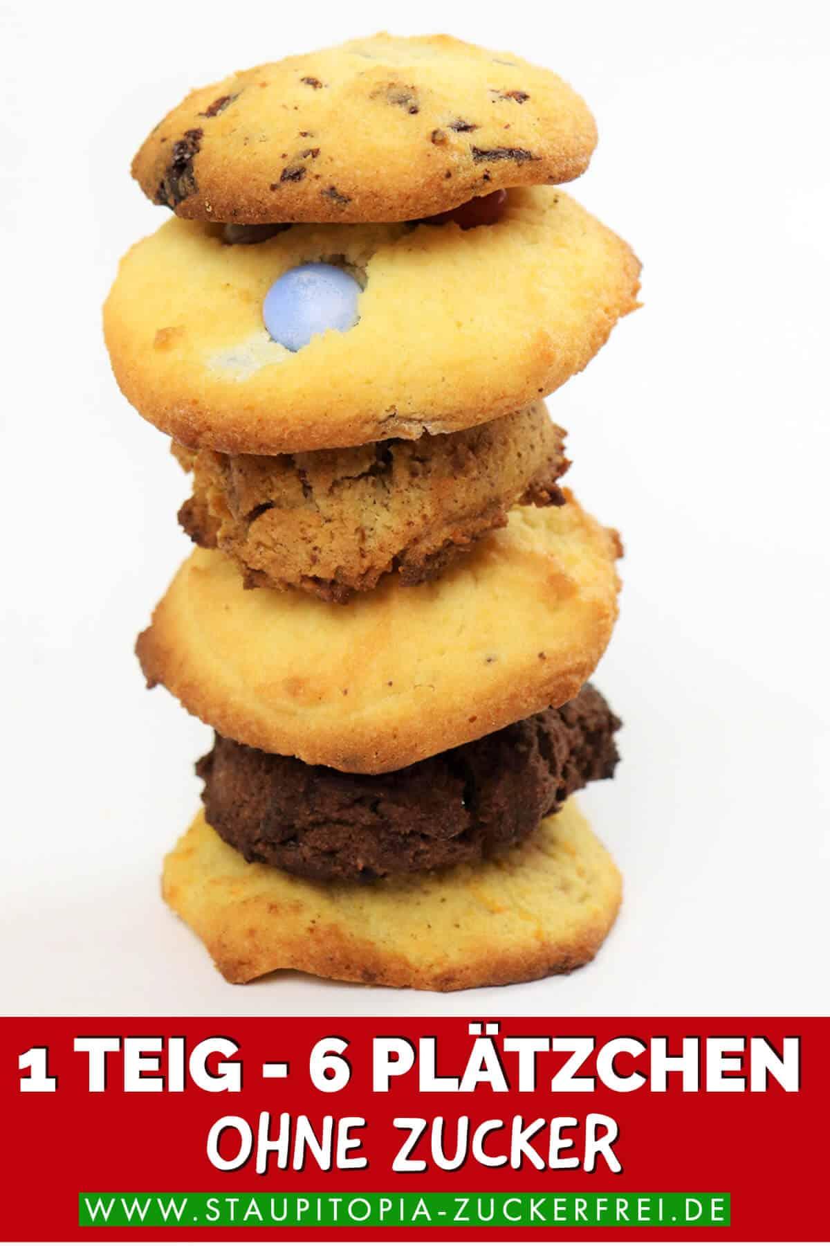 Cookies ohne Zucker und ohne Mehl Rezepte