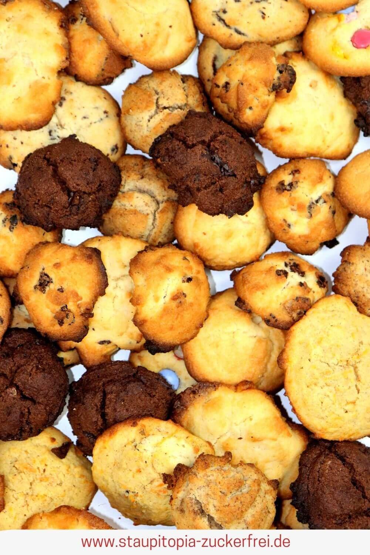 Gesunde Plätzchen Rezept ohne Mehl und Zucker