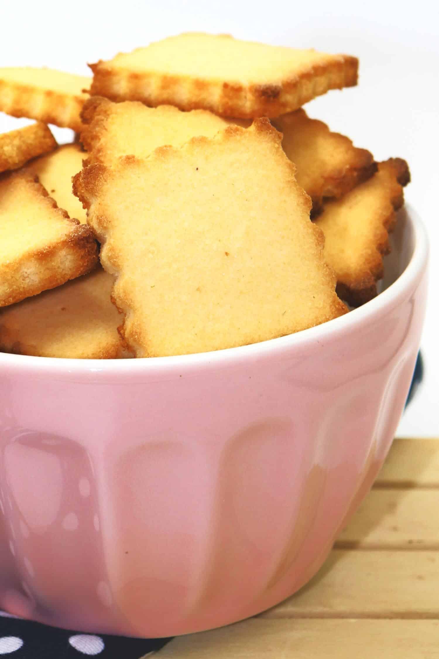 Low Carb Butterkekse ohne Zucker und Mehl