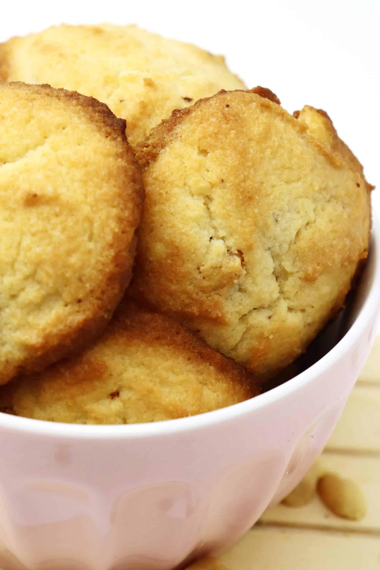 Low Carb Kekse Erdnussbutter ohne Zucker