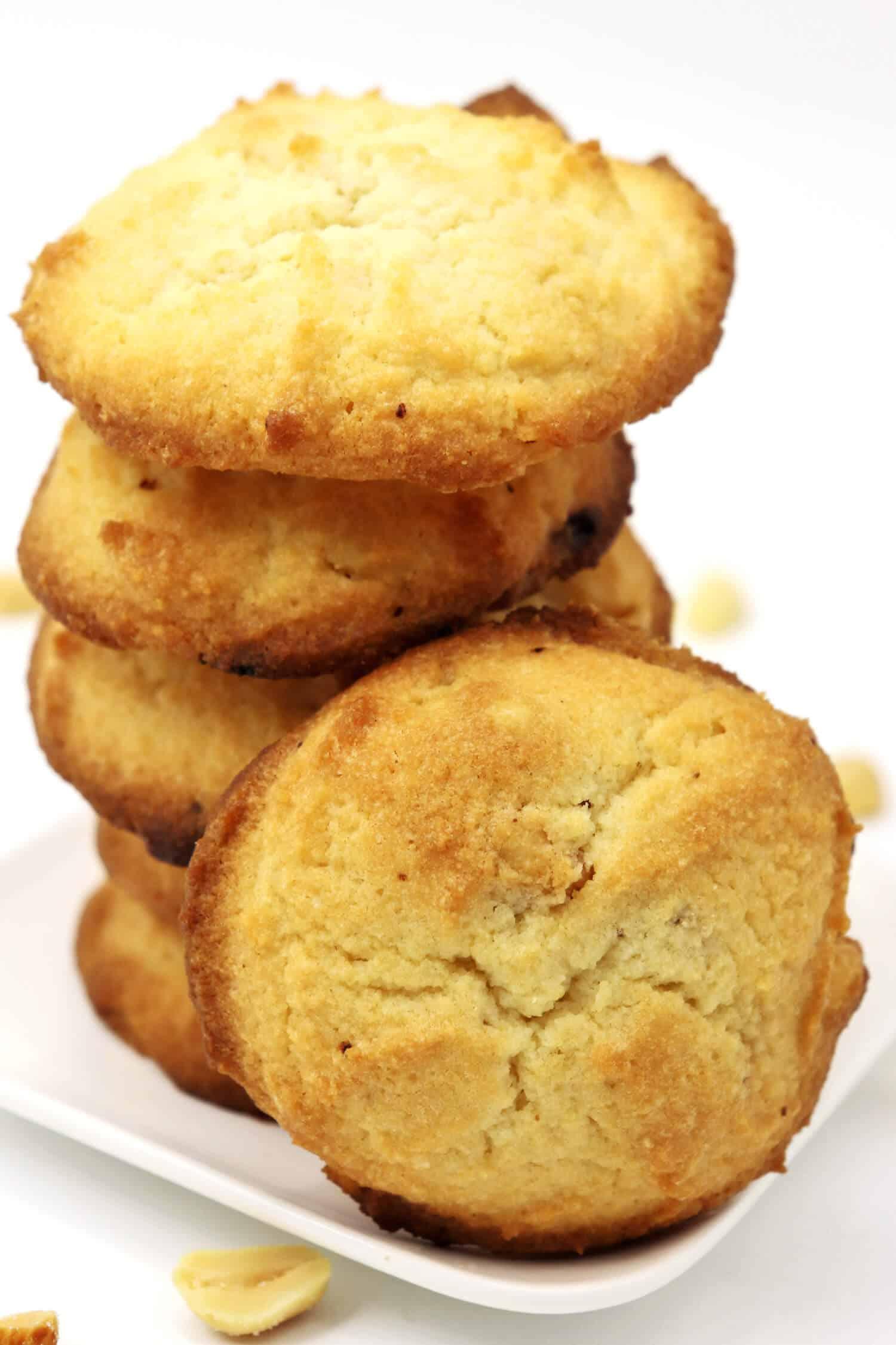 Low Carb Peanut Cookies ohne Zucker und Mehl