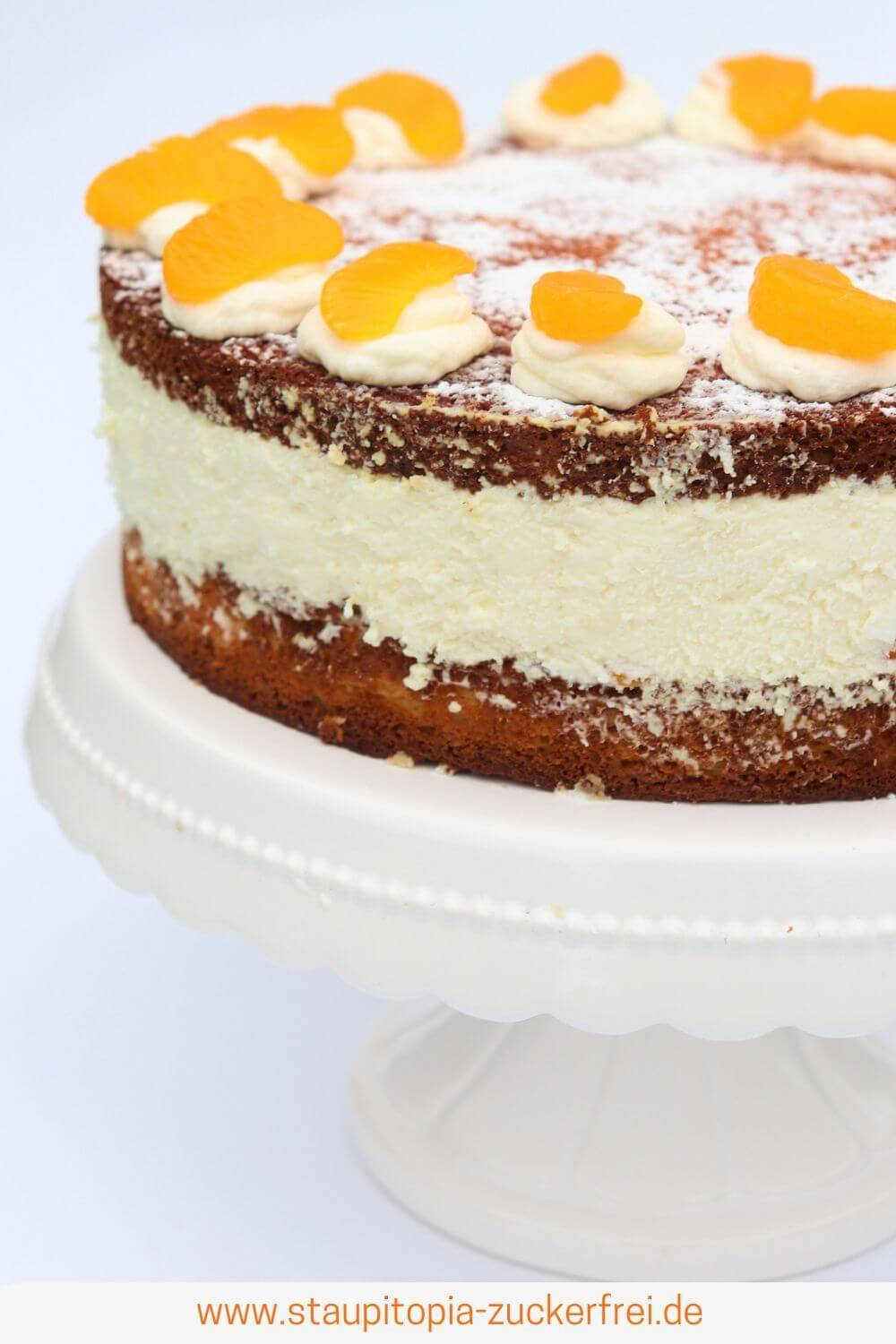 Low Carb Quarkkuchen ohne Zucker