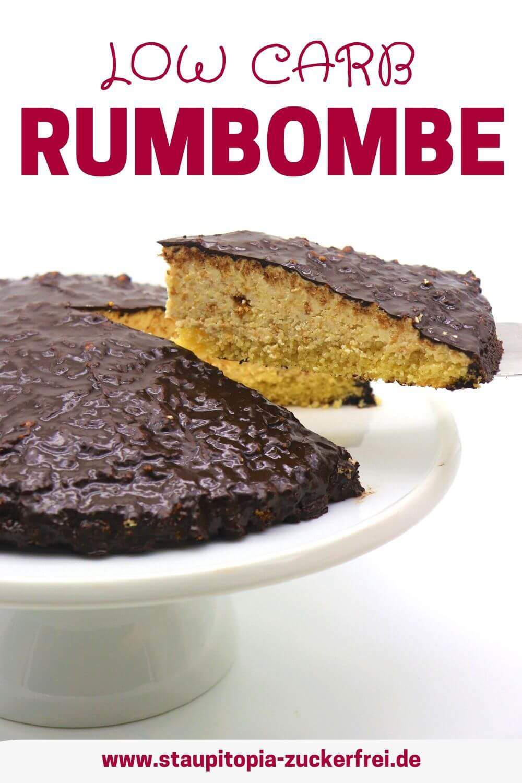 Low Carb Rumbombe - Keto Torte