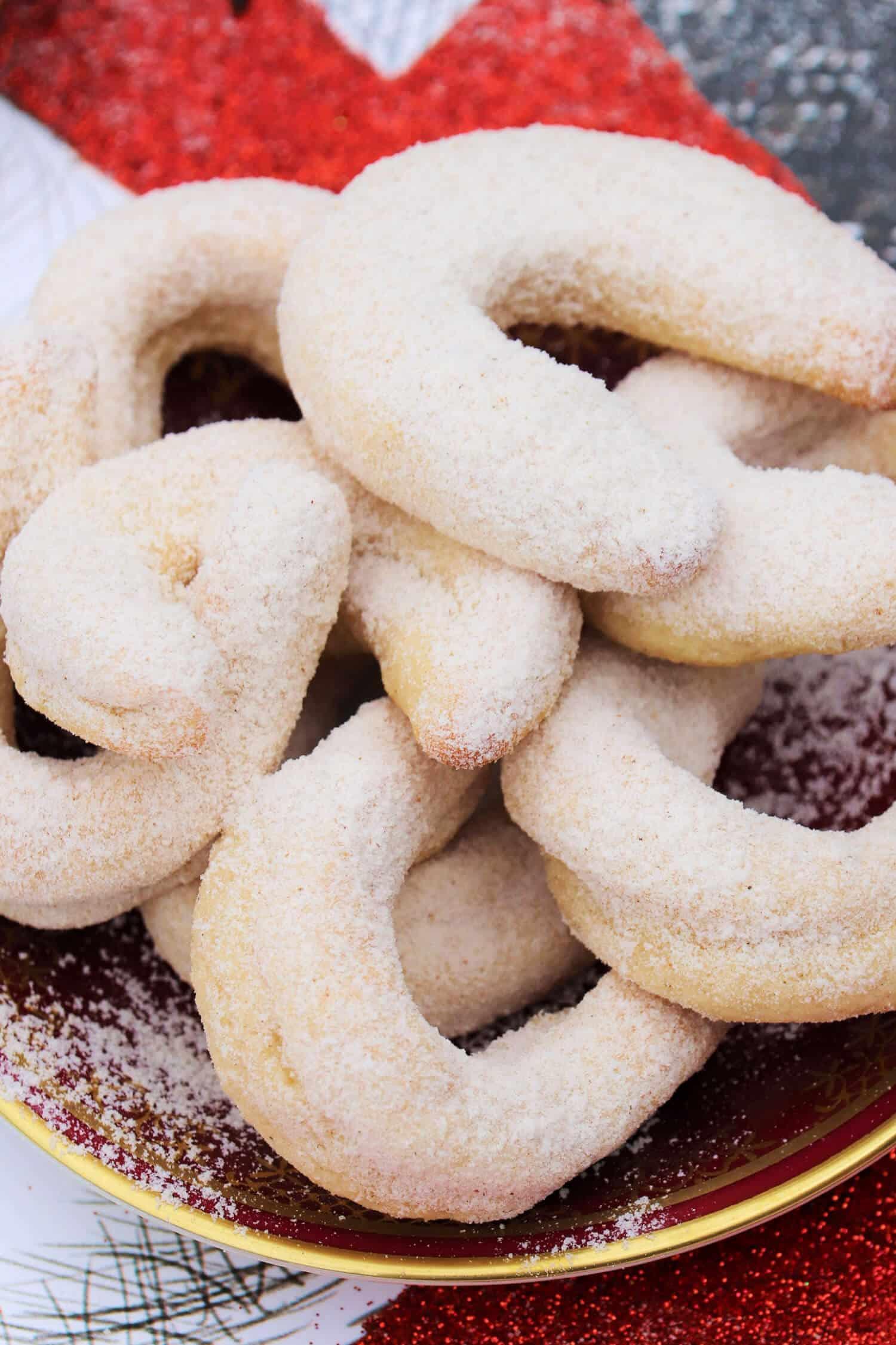 Vanillekipferl ohne Zucker Rezept