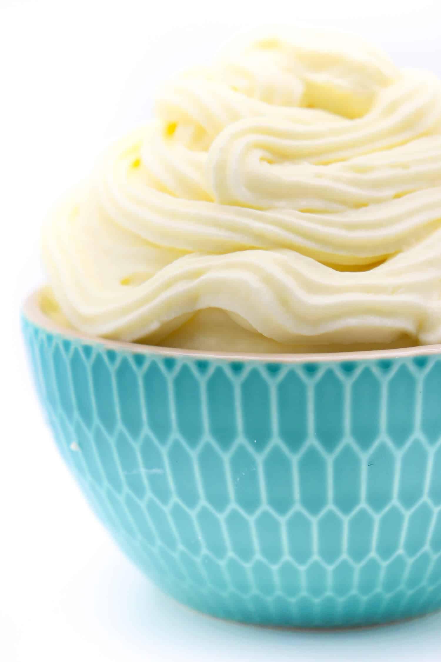Cream Cheese Frosting ohne Zucker Rezept