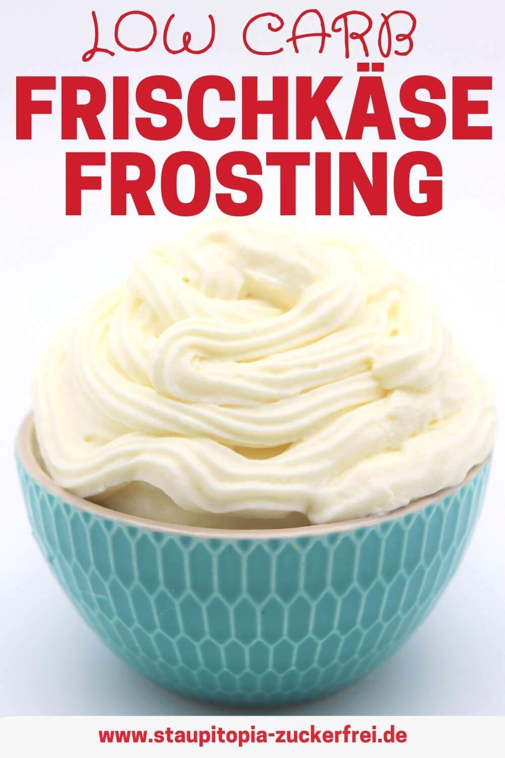 Low Carb Cream Cheese Frosting Rezept