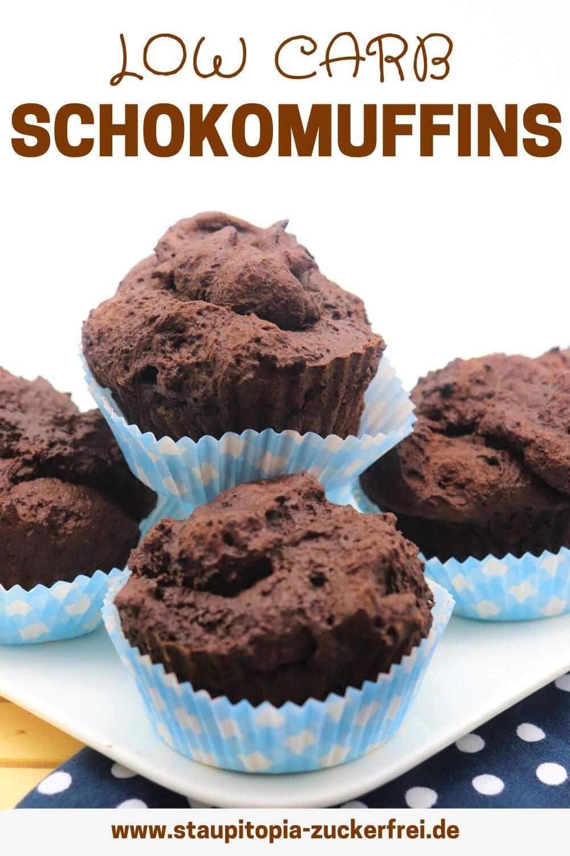 Low Carb Schokomuffins Rezept