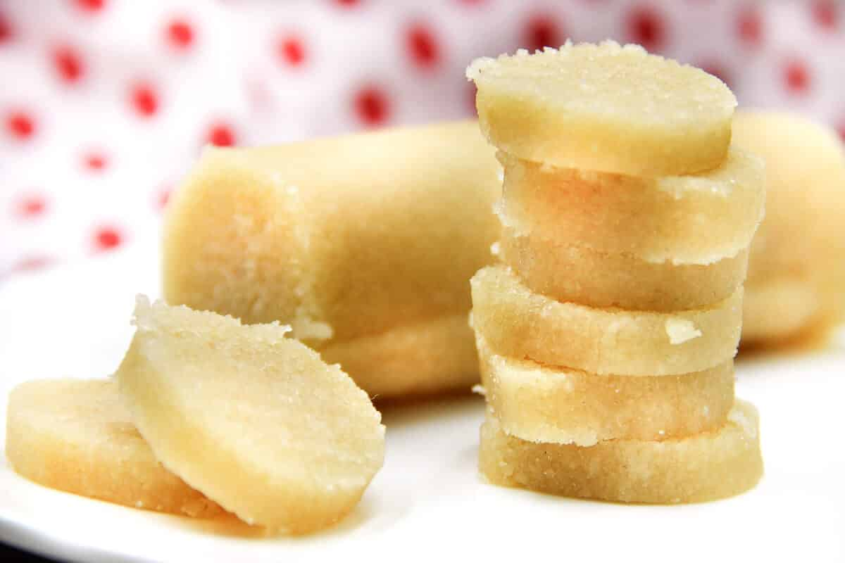 Marzipan Rohmasse ohne Zucker selber machen