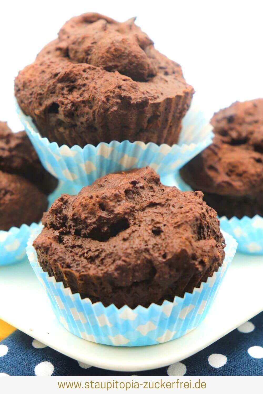 Muffins ohne Zucker und Mehl Rezept
