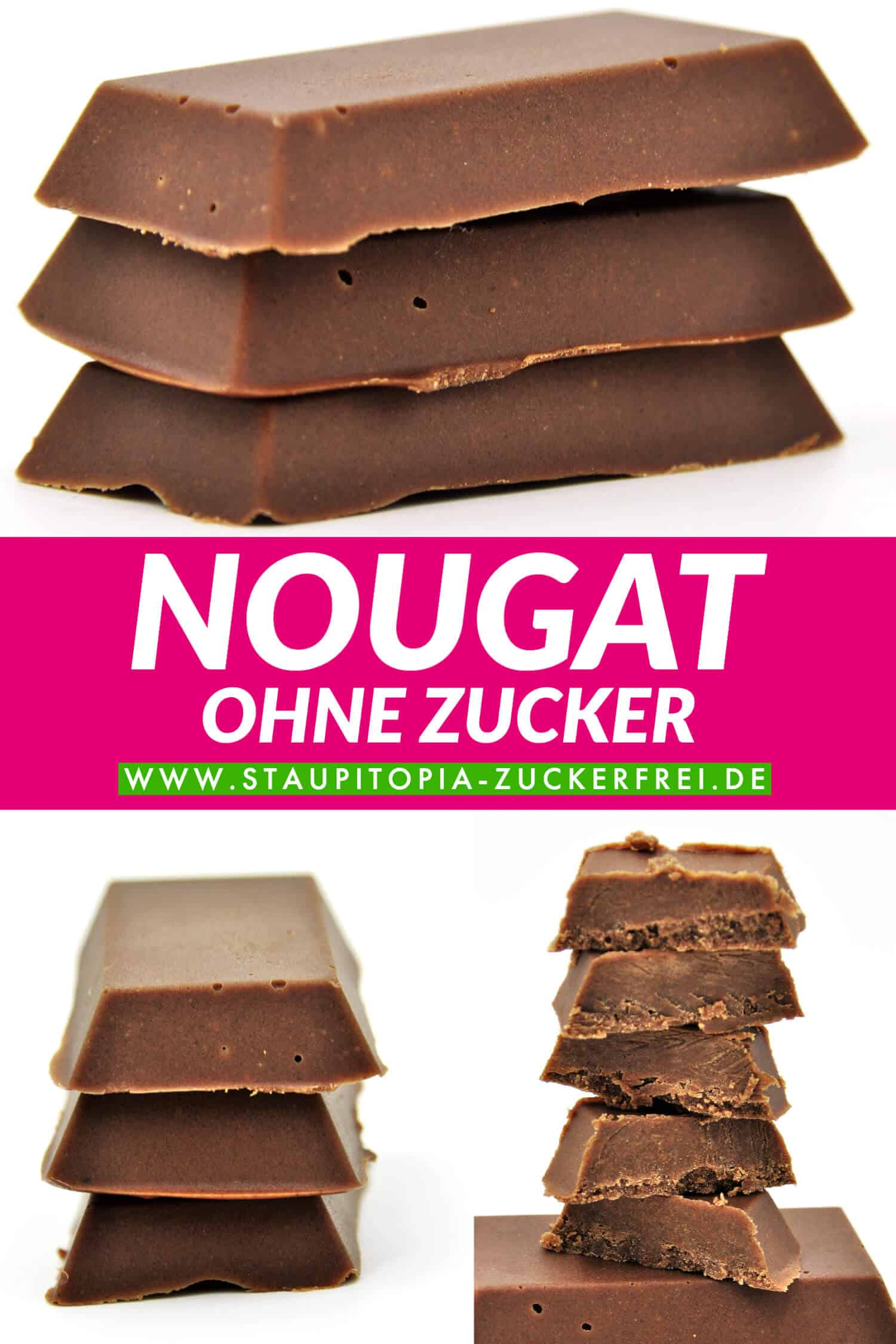 Low Carb Nougat ohne Zucker