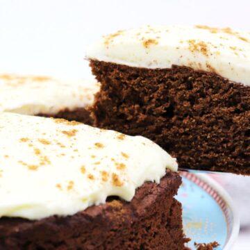 Weihnachtlicher Low Carb Kuchen ohne Zucker