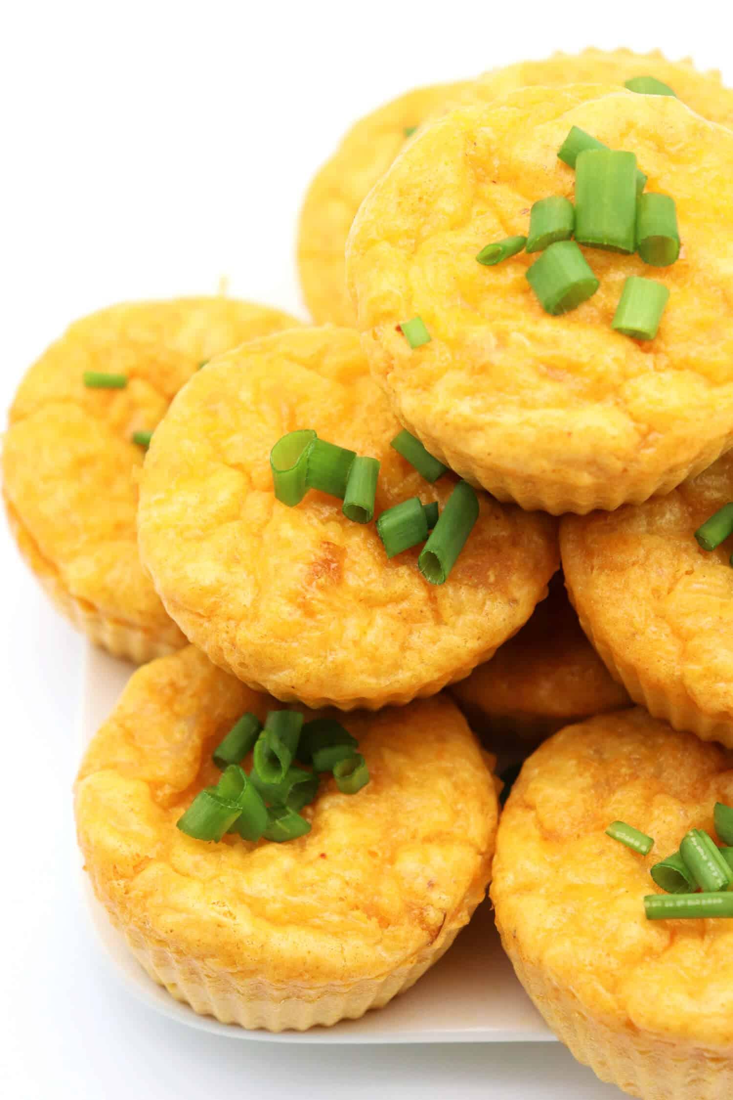 Herzhafte Muffins ohne Kohlenhydrate schnell und einfach