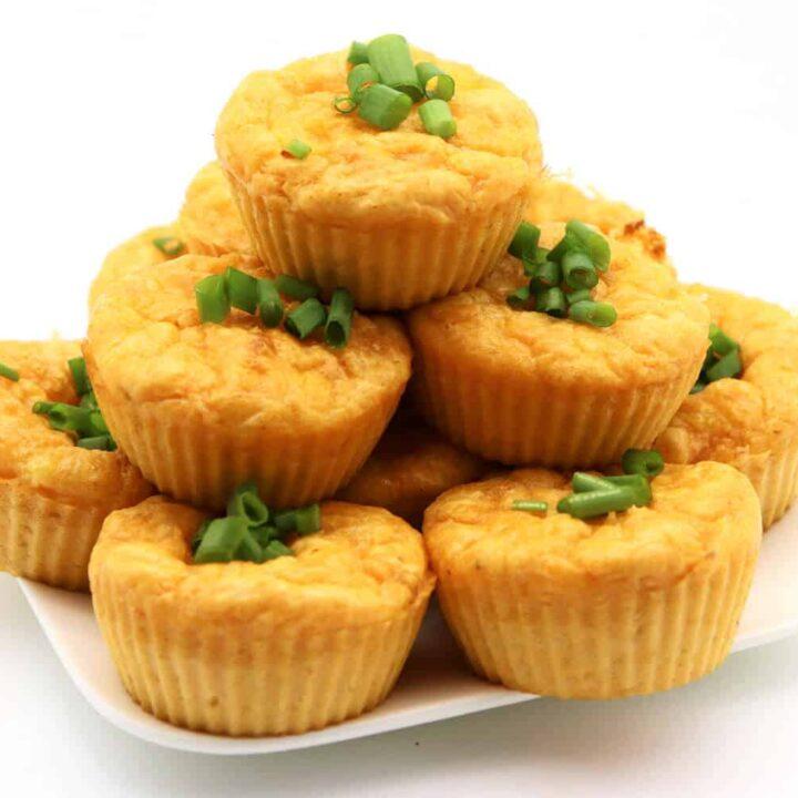 herzhafte Low Carb Muffins Rezept