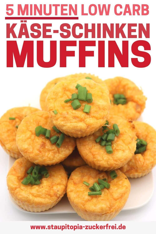 Schnelle Rezepte ohne Kohlenhydrate: herzhafte Low Carb Muffins in 5 Minuten
