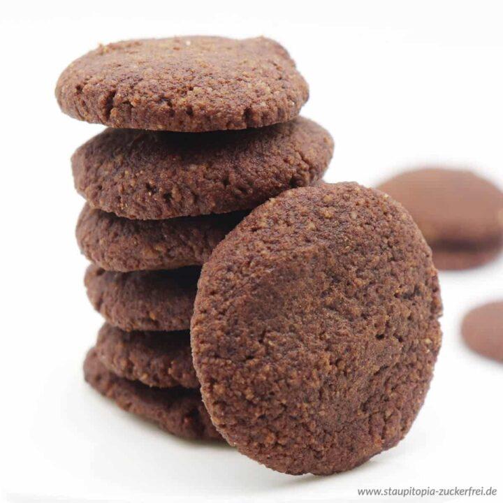 Vegane Kekse ohne Zucker schnell und einfach selber machen