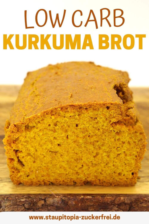 Kurkuma Brot Rezept ohne Kohlenhydrate