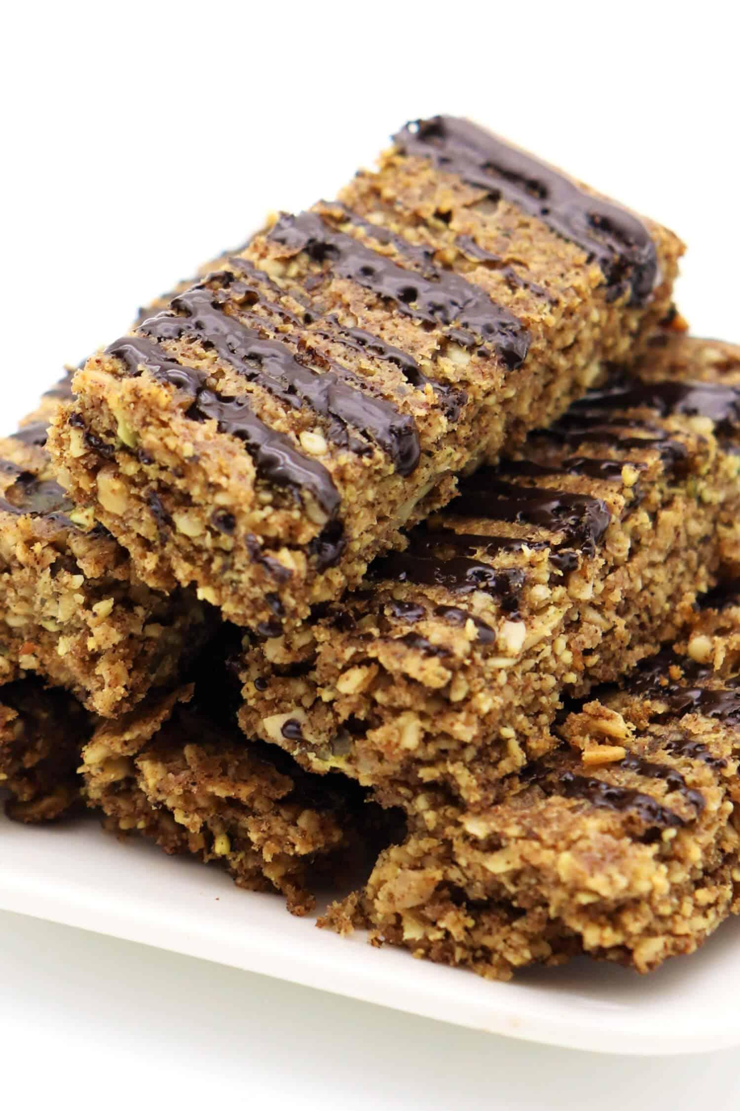 Rezept für Low Carb Müsliriegel ohne Zucker