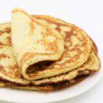 Low Carb Pfannkuchen mit Frischkäse selber machen