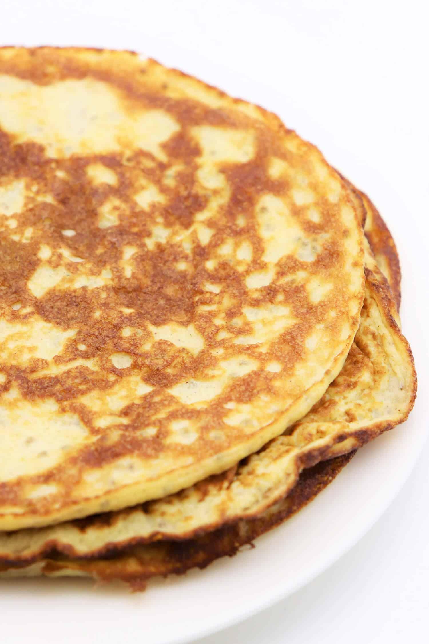 Low Carb Pfannkuchen mit Kokosmehl Rezept