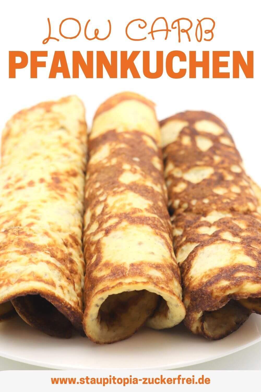 Low Carb Pfannkuchen mit Mandelmehl selbst machen