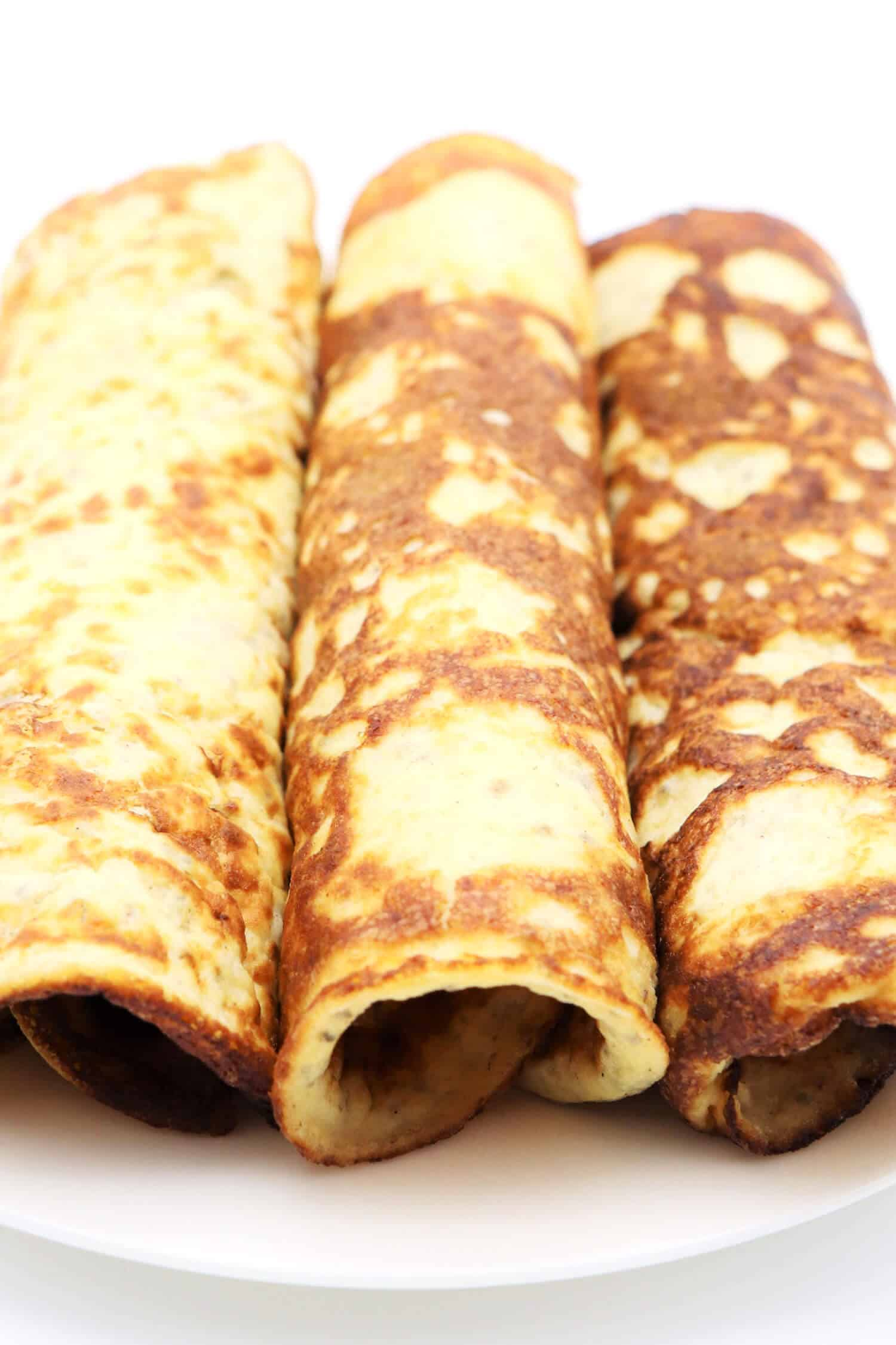 Glutenfreie Low Carb Pfannkuchen ohne Mehl