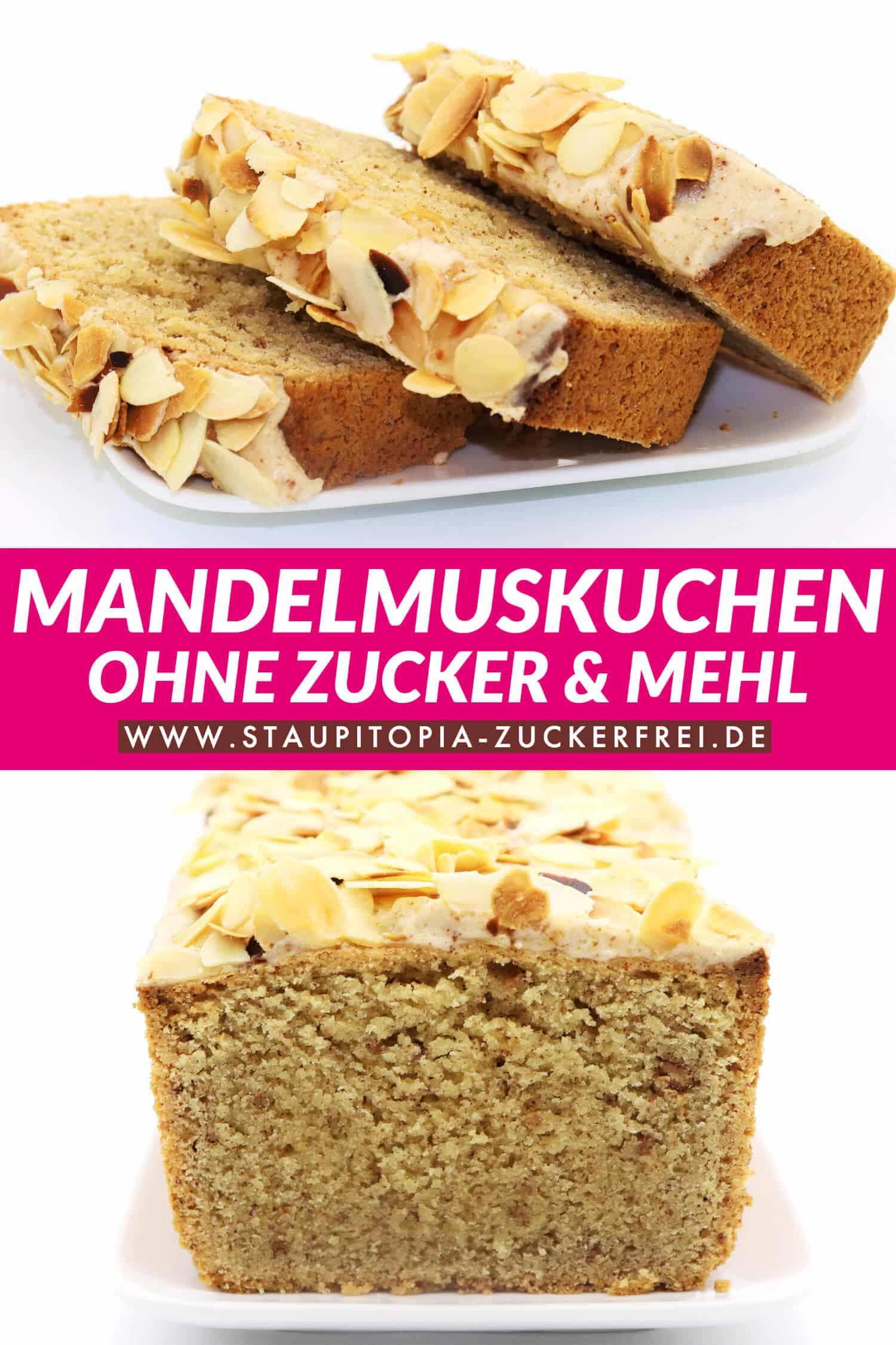 Mandelmuskuchen - Der Kuchen mit Mandelmus