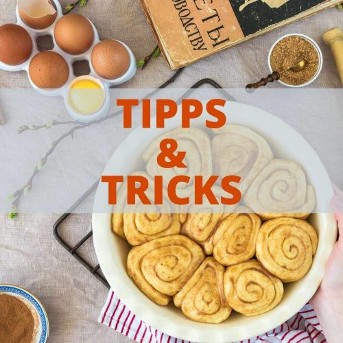 """Tipps und Tricks rund um das Thema """"Low Carb Backen und Naschen"""""""