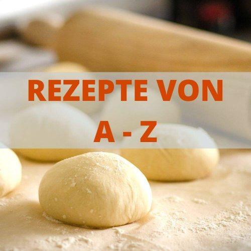 Low Carb Rezepte zum Backen und Naschen von A-Z