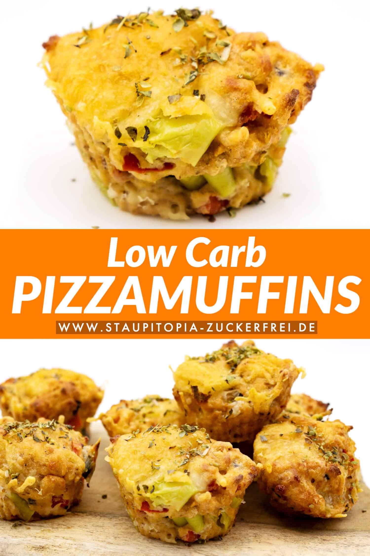 Pizzamuffins glutenfrei und ohne Mehl