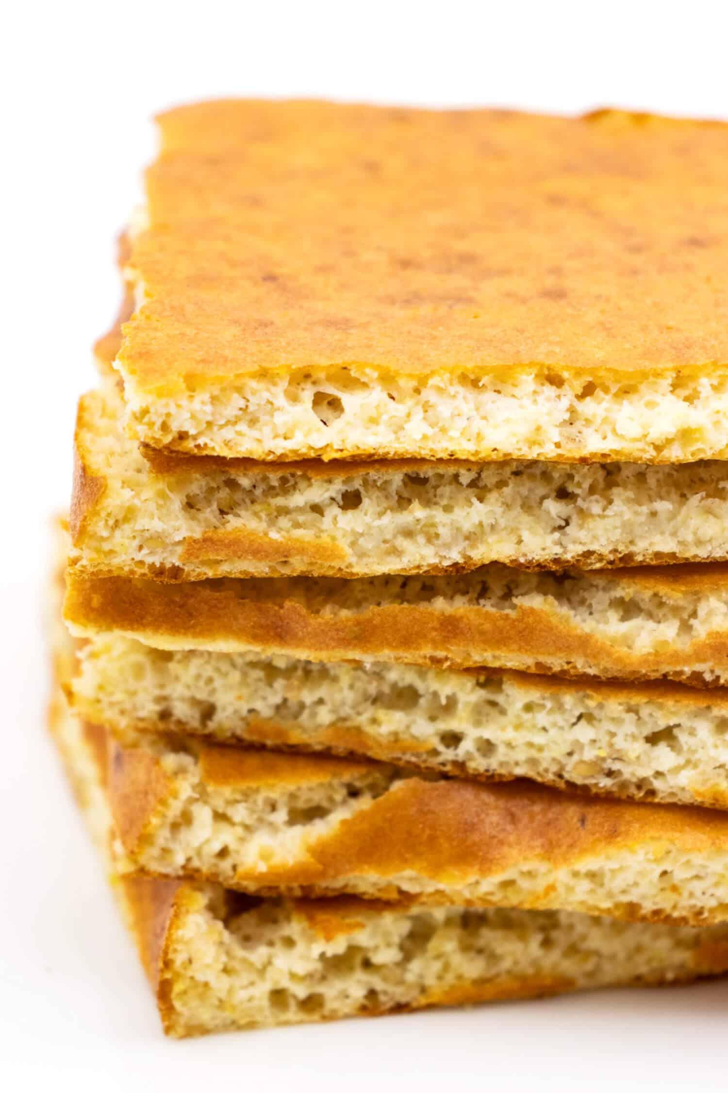 Glutenfreies Leinsamenbrot mit wenigen Zutaten