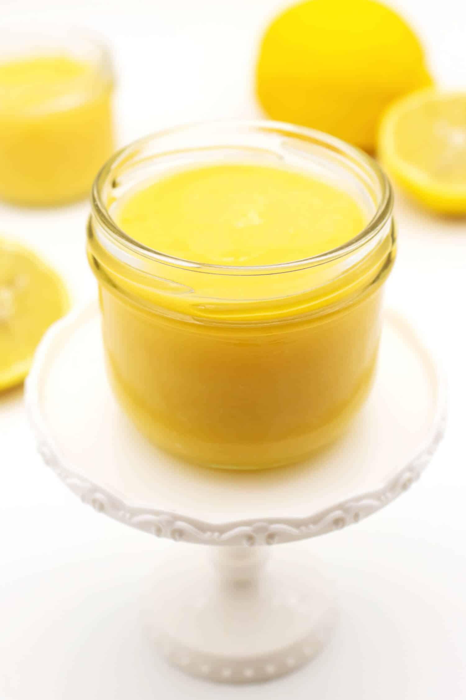 Lemon Curd ohne Zucker selber machen