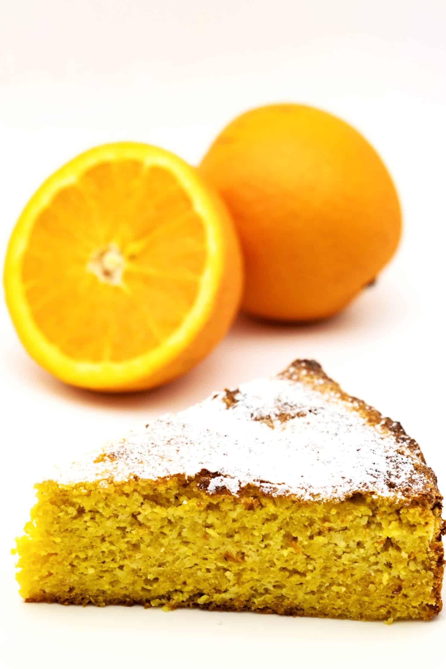 Low Carb Orangenkuchen Rezept