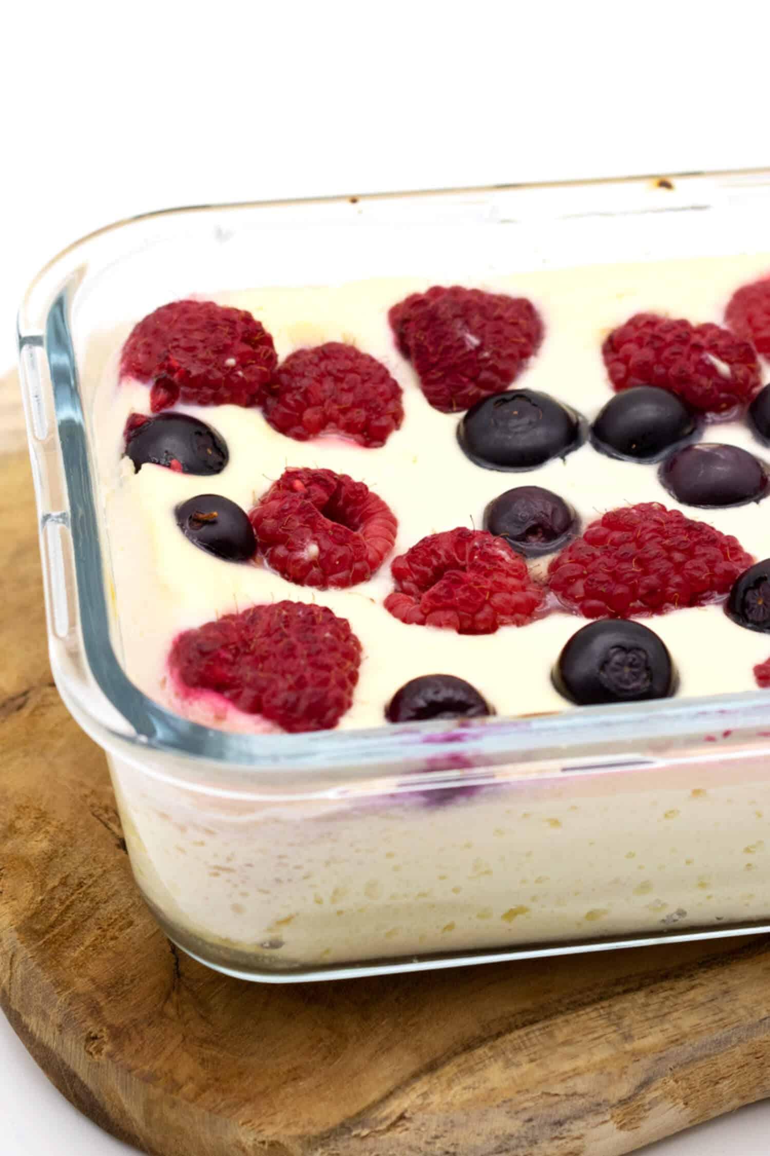 Low Carb Quarkauflauf ohne Mehl