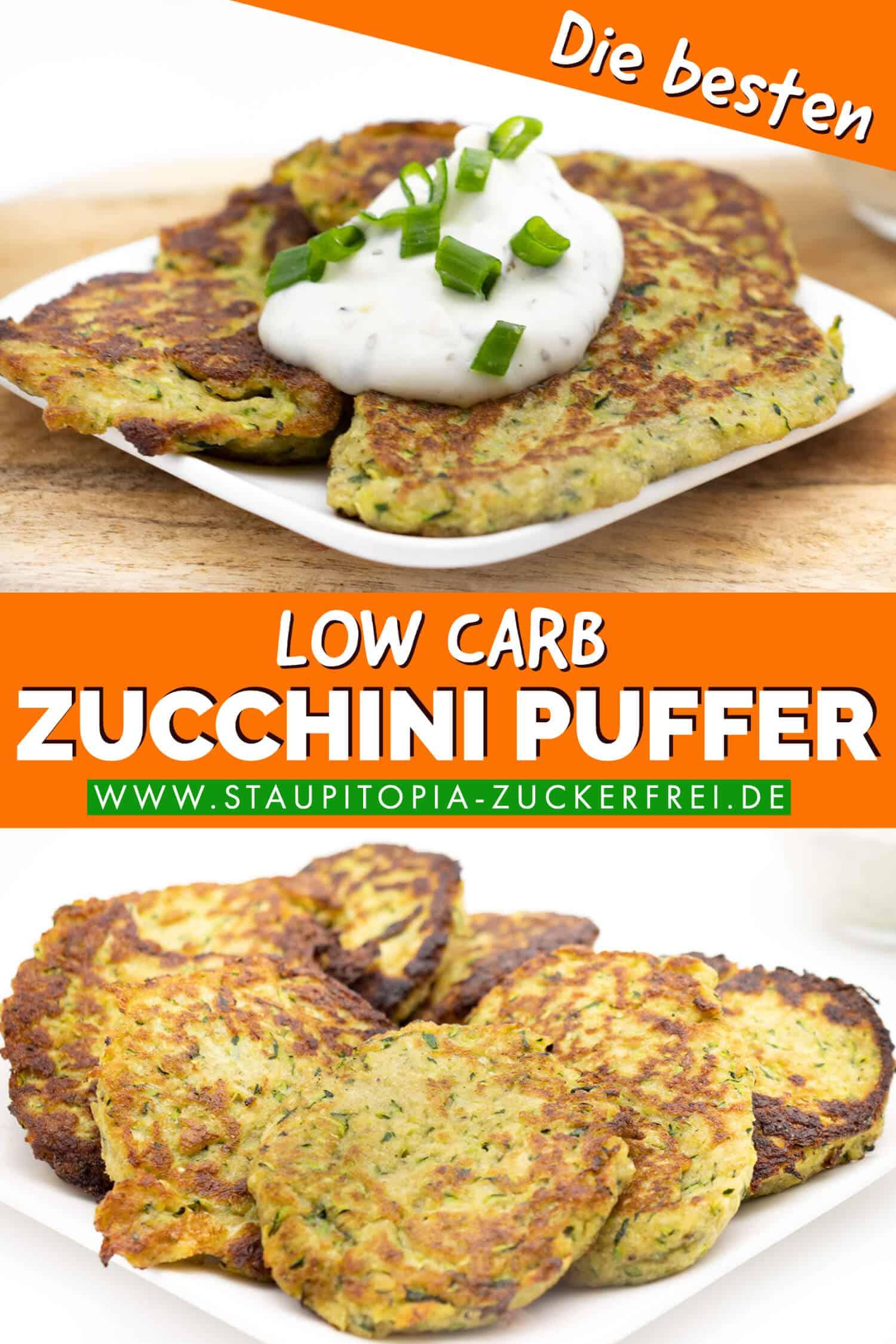 Low Carb Zucchini Puffer schnell und einfach