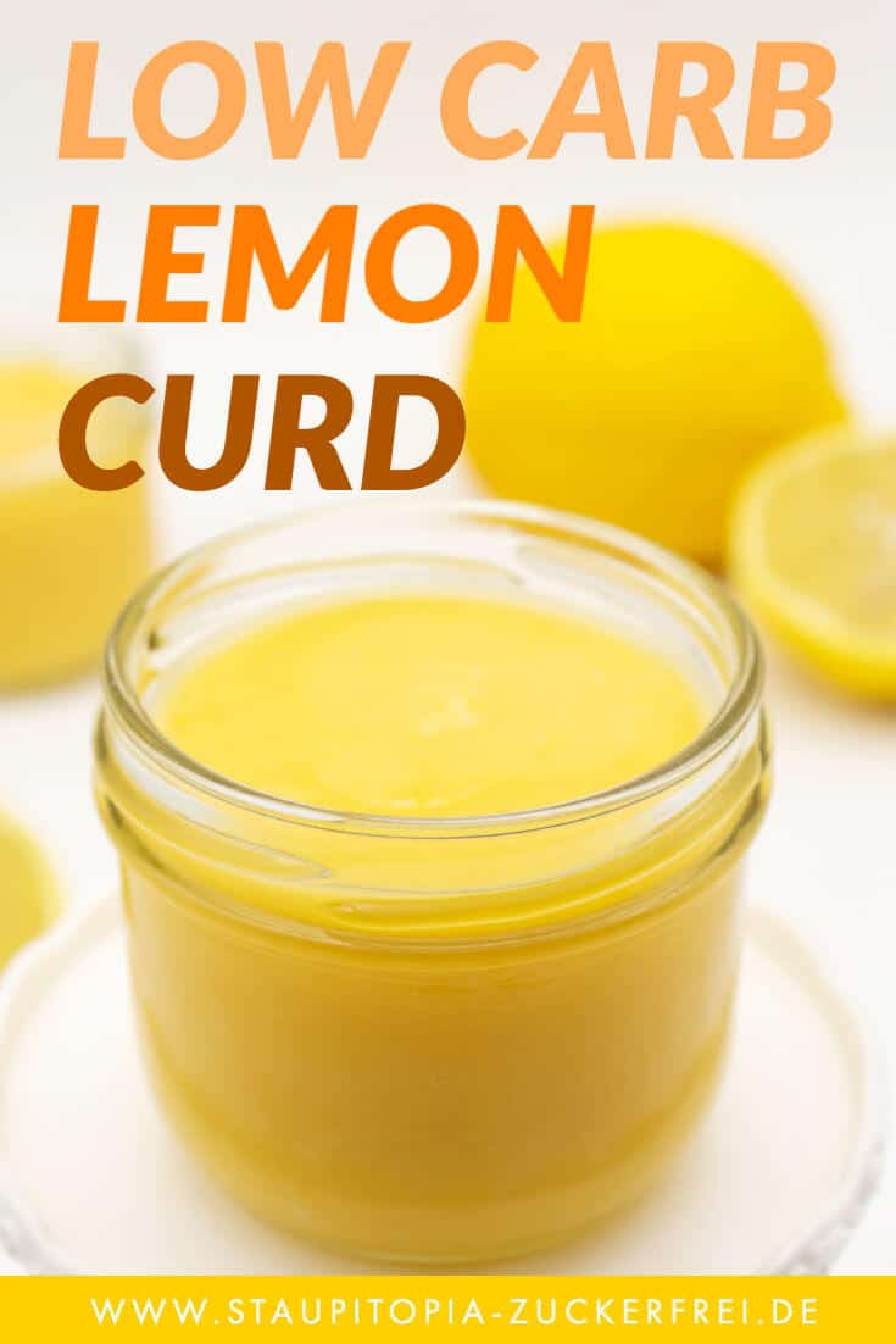 Rezept Lemon Curd Low Carb