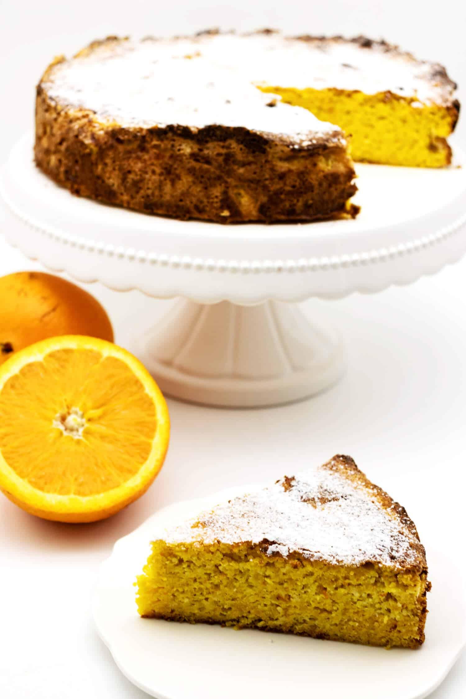 Spanischer Orangenkuchen ohne Mehl