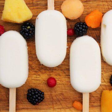 Eis am Stiel ohne Zucker Rezept
