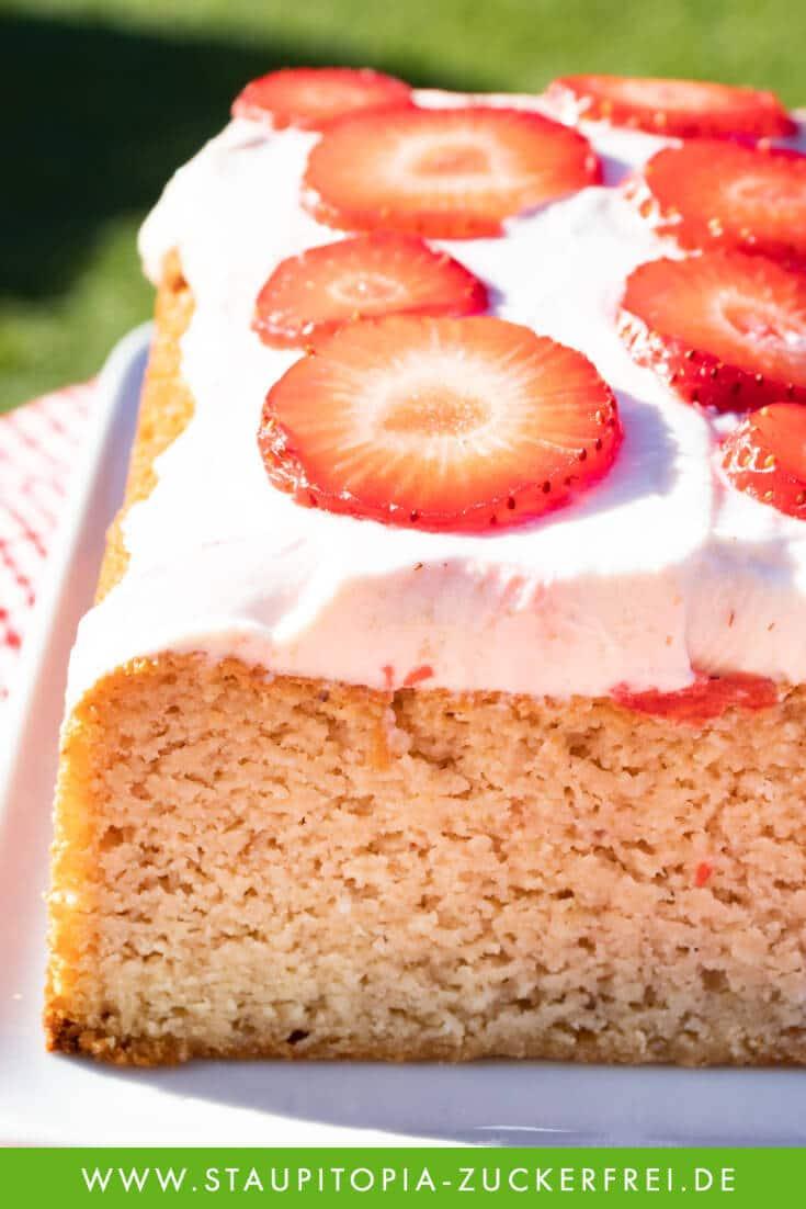 Erdbeer Rhabarber Kuchen Rührteig Rezept